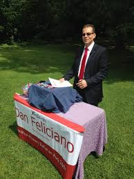 Believed to be Dan Feliciano at his campaign headquarters.