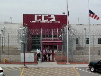 The Florence Correctional Center, where 28 Vermont inmates are subject to CCA's tender mercies.