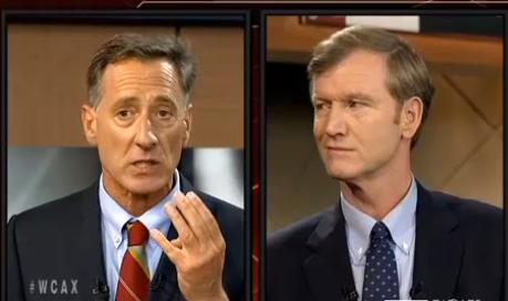 Shumlin/Milne at WCAX debate