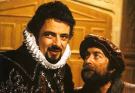 """""""I have a cunning plan,"""" whispers Baldrick."""