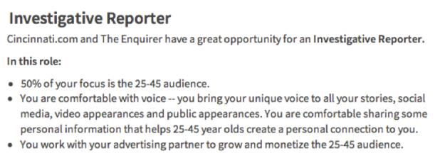 Enquirer ad