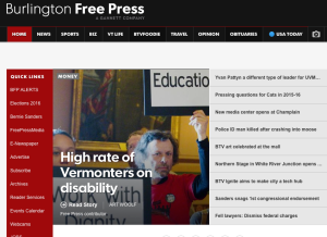 Freeps front page, VWC